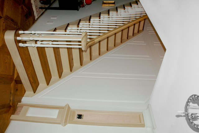 Stair Wainscoting