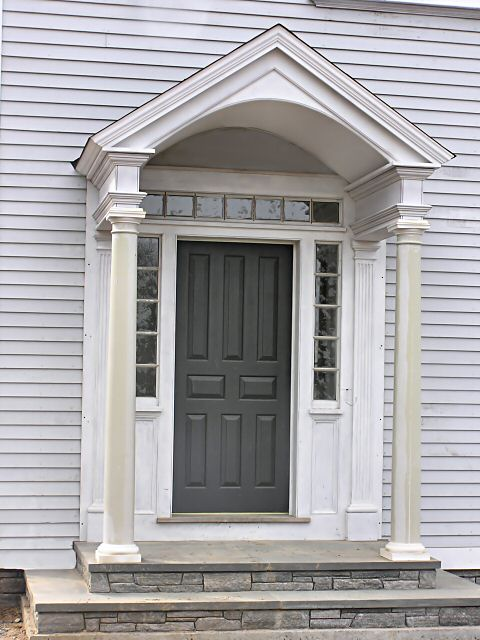 Detailed Entryways And Doors