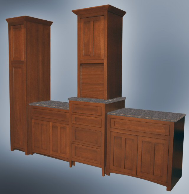 Quartersawn White Oak Vanity