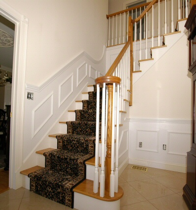 Staircase Wainscoting